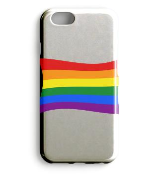 Gay Pride Rainbow Flag PHONE