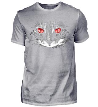 Scary Halloween Cat T-Shirt
