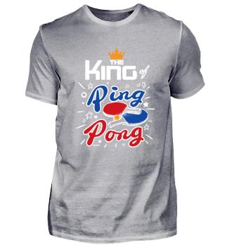 Tischtennis König Tischtennisspieler