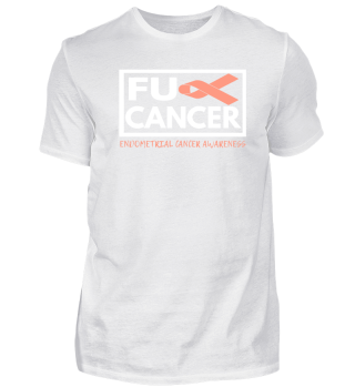 Fck Cancer Shirt endometrial cancer
