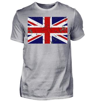 ★ United Kingdom grunge Flag V