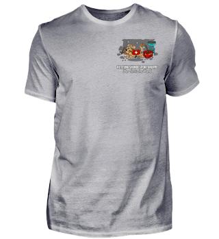 Fett`- Herrenshirts, Frontprint