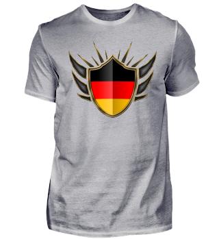 Deutschland-Germany Wappen Flagge 014