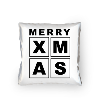 Stylish Square Frame - XMAS - black