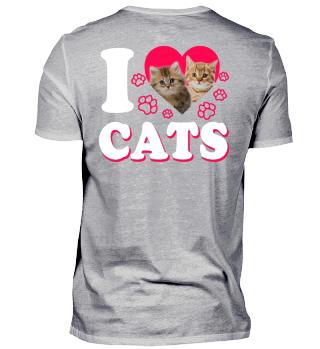 I love Cats Gift
