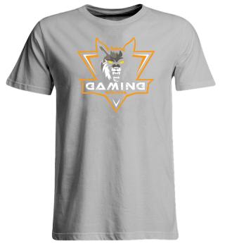 Gaming Wolves - Girly Shirt Big V1