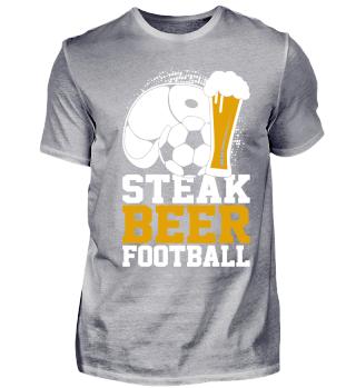 Steak Beer Football Steak Beer Football