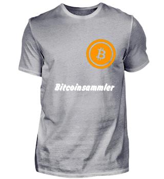 Bitcoinsammler weiß