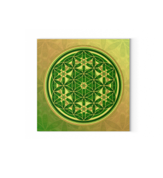 ★ Flower Of Life - Batik Style Colored 2