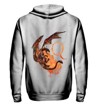 Drachen Buchstabe Q