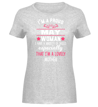 proud May Woman - lovely Mother