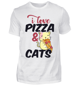 I love pizza & cats