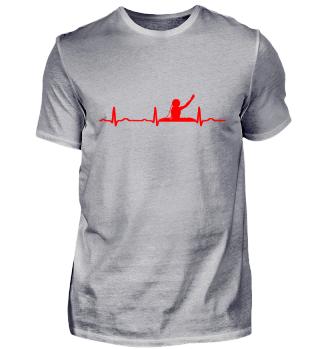 GIFT - ECG HEARTLINE DJ RED LINE