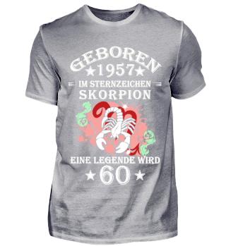 Sternzeichen Skorpion wird 60