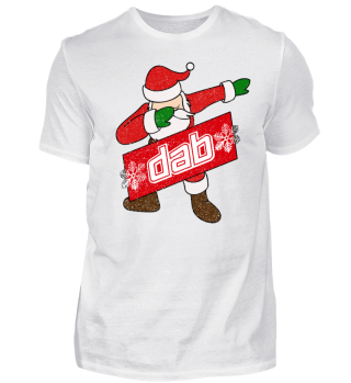 Dabbing Santa Shirt Dab Tanz Shirt
