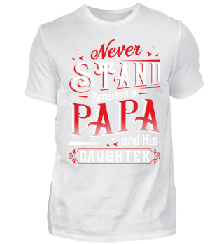 PAPA and DAUGHTER - Fathers Day Shirt