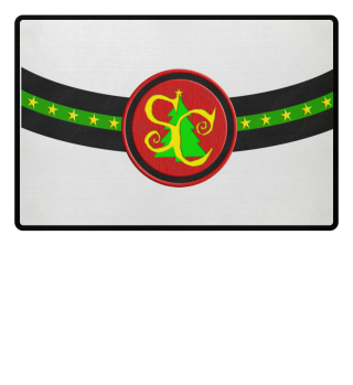 Santa Claus Monogram Belt 1