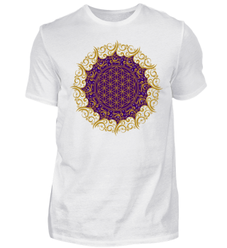 ♥ FLOWER OF LIFE - Vintage Mandala II