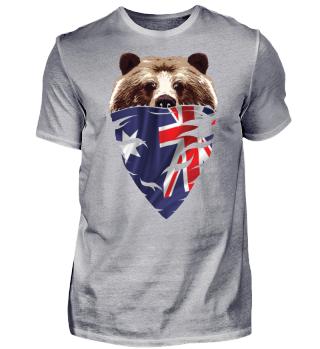 BEAR Vintage Patriot Australien