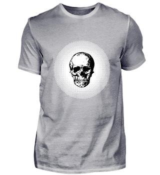 weathered rotten skull Halloween