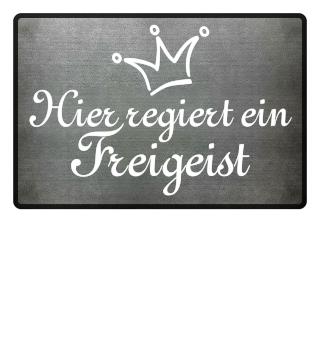 Regiert Ein Freigeist - Krone weiss