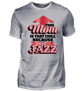 Jazz Mama Geschenk Jazzshirt Trompete