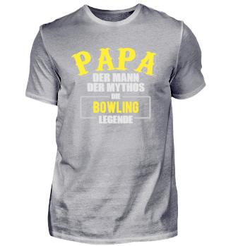 Papa Bowling Legende Shirt