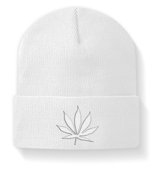 ♥ Embroidery - Marijuana Hemp Grass