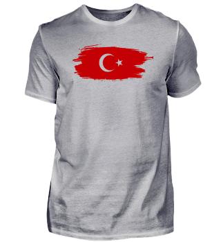 Türk Bayragi | Türkische Flagge Pinsel