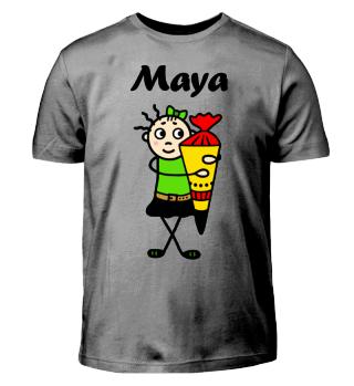 Maya - Einschulung I-Dötzchen