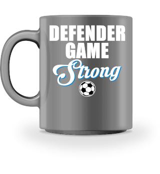 Defender Game Strong soccer goalie