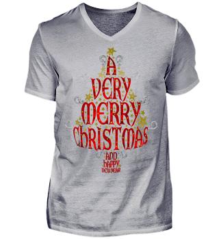 A VERY MERRY CHRISTMAS Tree I