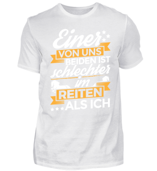 Reiten Reiter Shirt Einer Von Uns