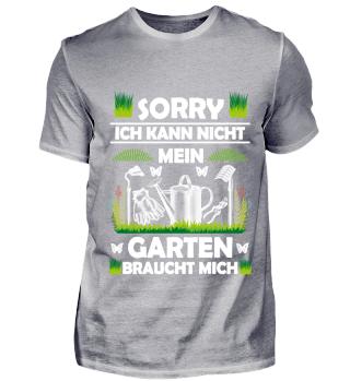 SORRY mein Garten - FRONT