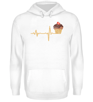 gift heartbeat muffin