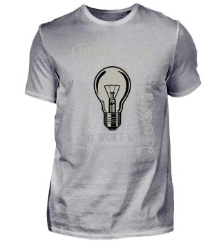 Haven't Failed Edison Glühbirne Geschenk