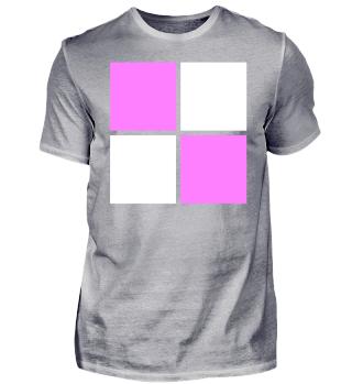 weiß rosa Logo Design Idee