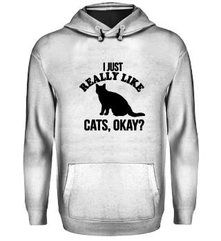 CATS - I JUST REALLY LIKE CATS, OKAY?
