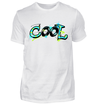 Its cool men! Graffiti Design Shirt Fun