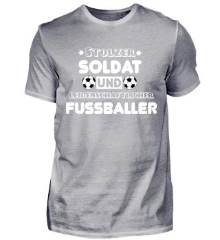 Fussball T-Shirt für Soldaten