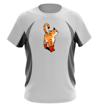 Puss in Boots - Men Women T Shirt