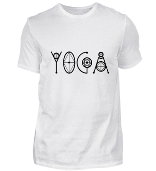 Yoga - geometrisch Geschenk T-Shirts