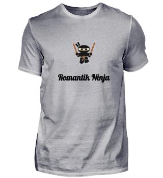 Romantik Ninja Liebe Valentinstag Herz