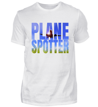 Plane Spotting Photo Font Quote Gift
