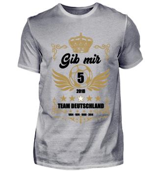 FUSSBALL SHIRT · GIB MIR FÜNF #2.2