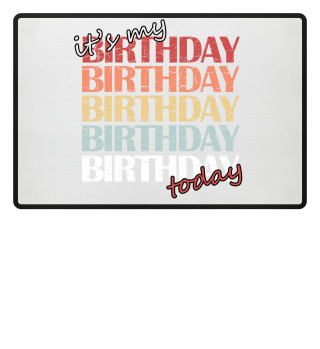 It`s my birthday today! Gift idea.