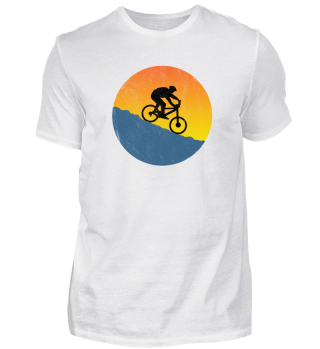 Mountainbike Downhill T-Shirt Washed Out