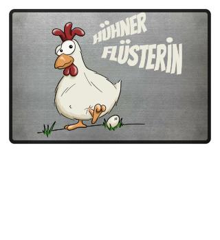 Hühner Flüsterin Huhn Landwirt Geschenk