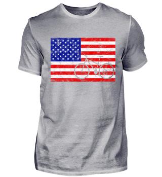 USA Flag + Bike | for american Biker ^^