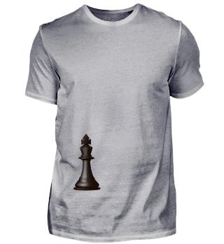 Schach König vorn